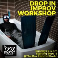 Copy of The Box Improv StudioDROP IN WORKSHOP