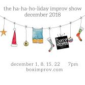 The Ha-Ha-Ha-liday Show is back!
