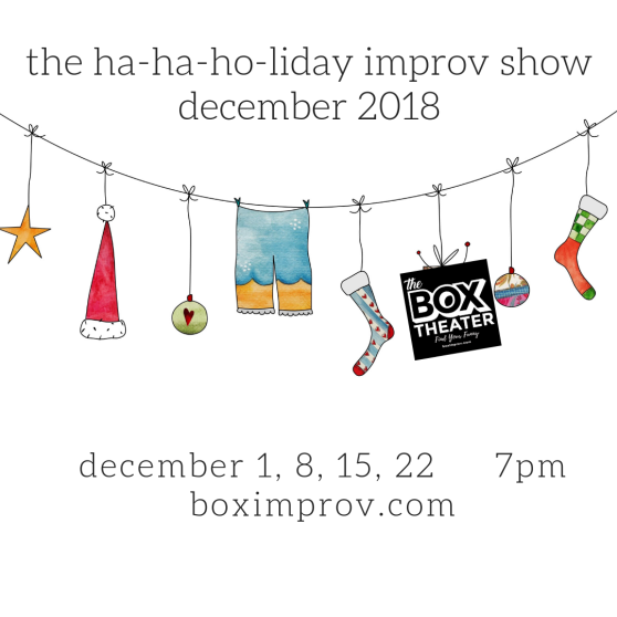 The Ha-Ha-Ha-liday Show is back!
